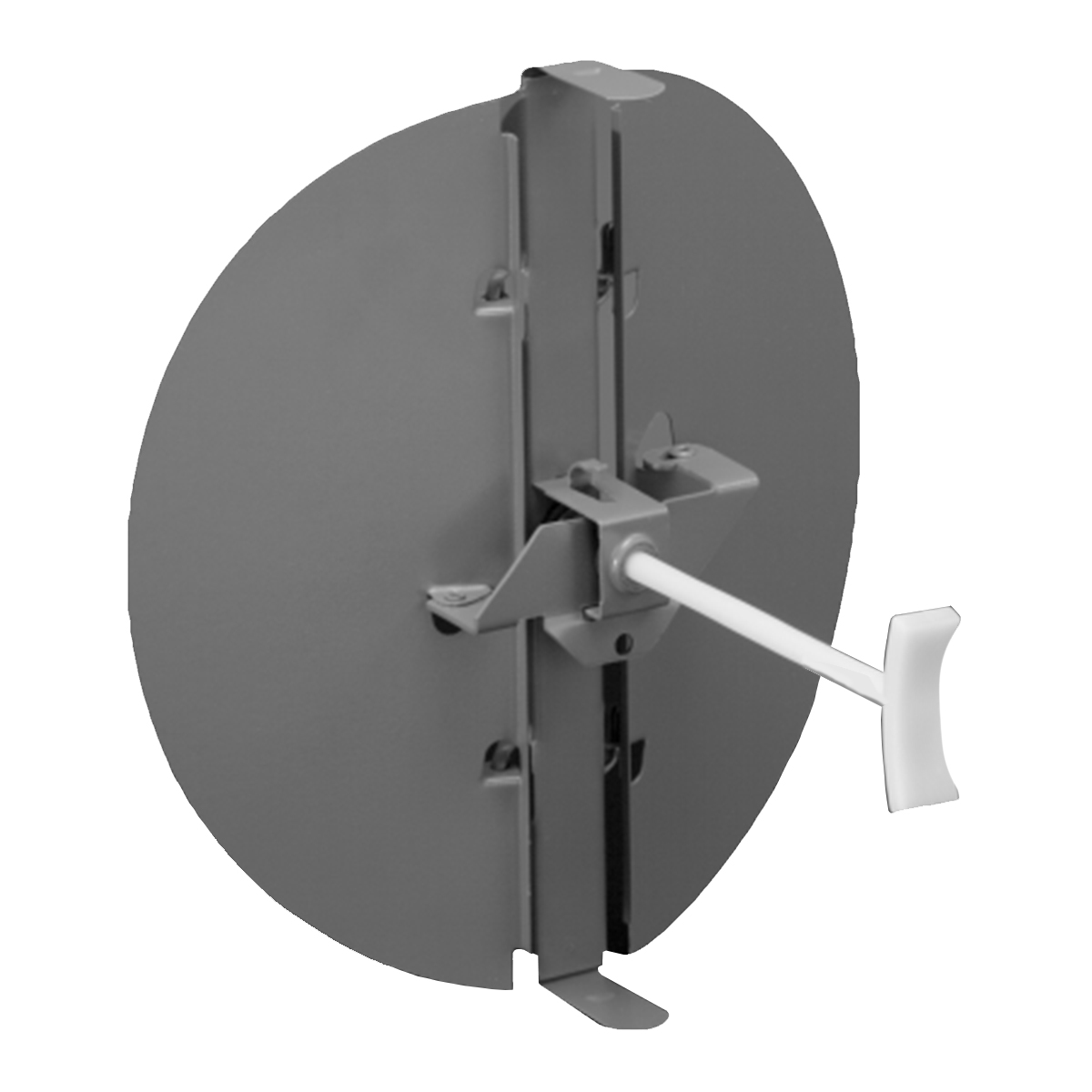 Linear Diffuser With Damper : R butterfly damper lima