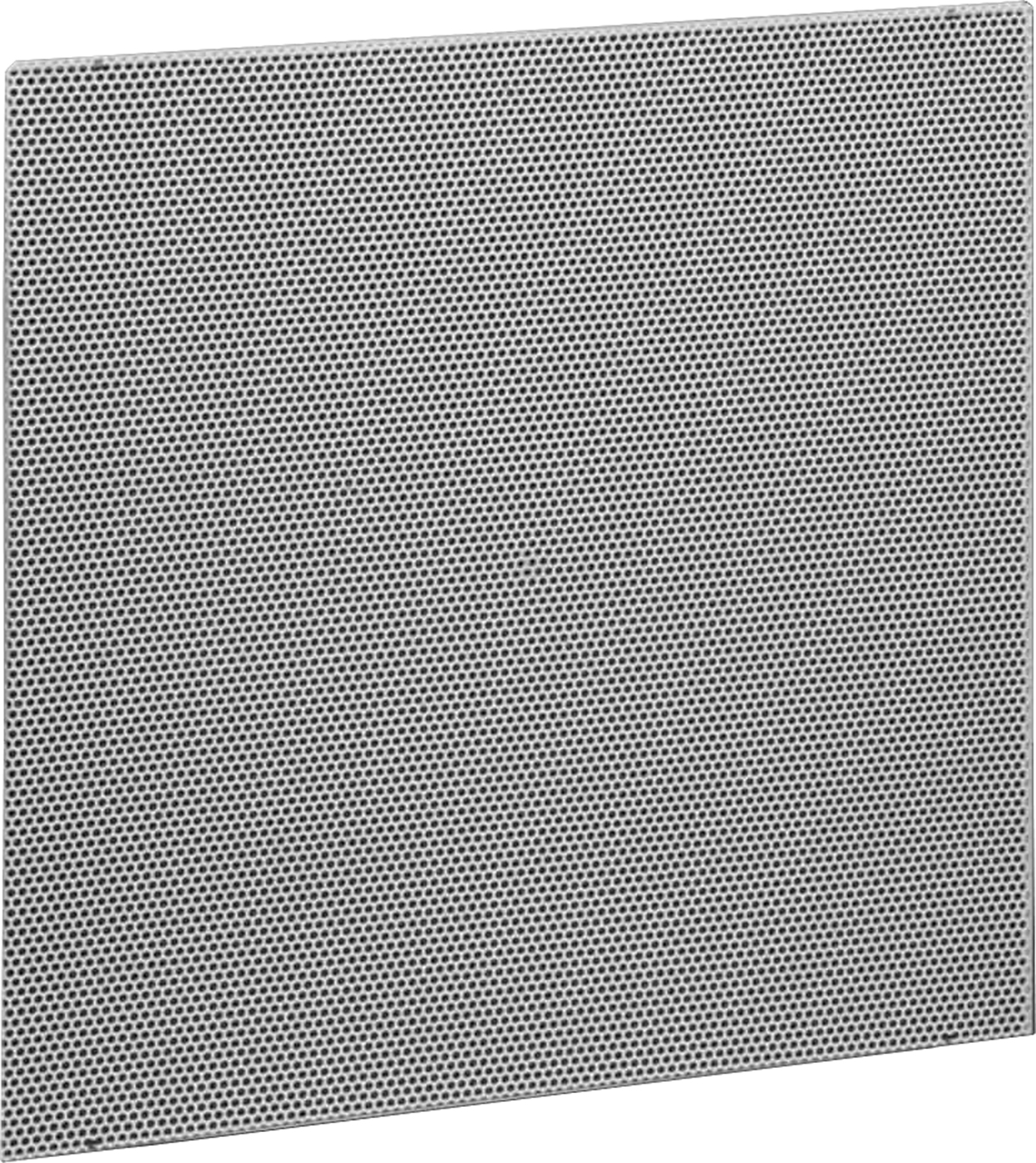 Perforated Lay In Grille : Perforated return turned up panel only lima