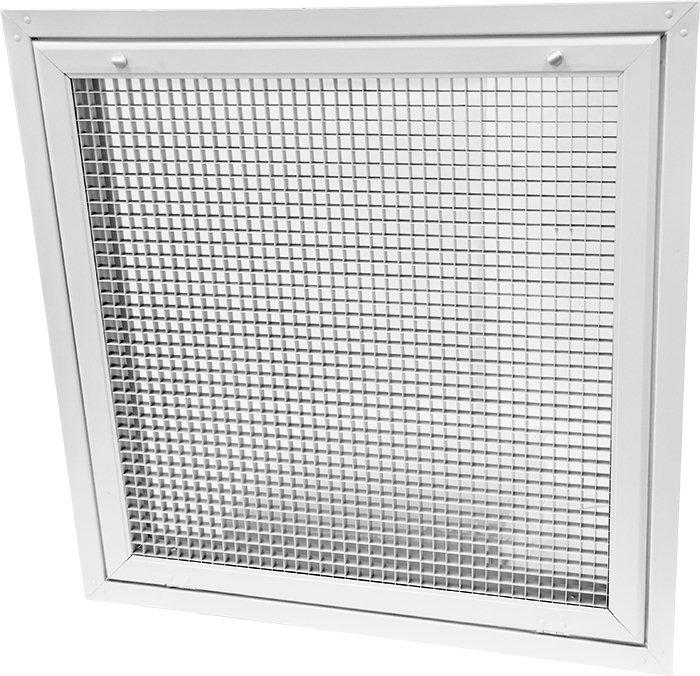 Alec5ff Lay In Eggcrate Return Air Filter Grille For T
