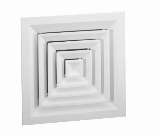 1400 Al1400 Square Rectangular Ceiling Diffuser Lima