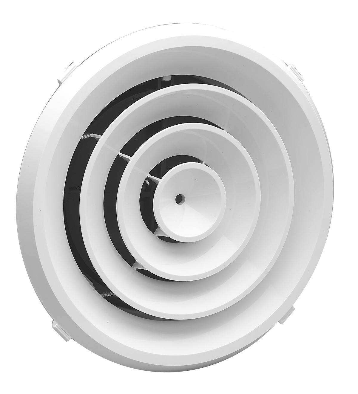 Rz Round Rezzin Round Ceiling Diffuser Lima