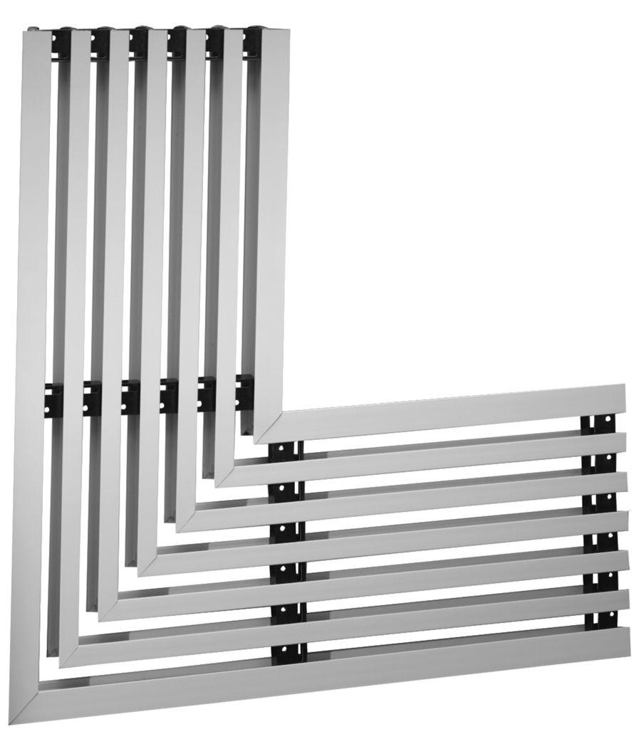 Linear Slot Diffuser 4 : Al linear slot diffuser lima