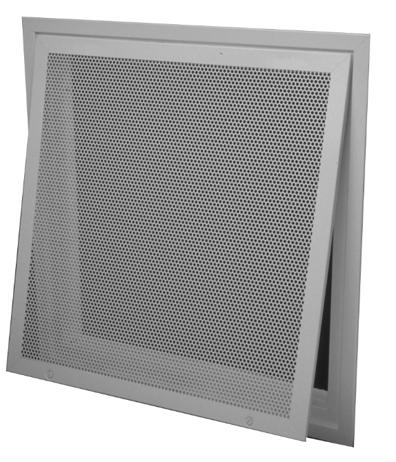 12PFF - Perforated Diffuser Face with Filter Frame