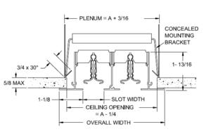 E1 - Linear Slot Diffuser