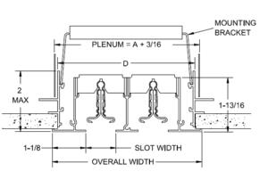 E2- Linear Slot Diffuser