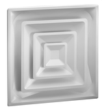 1540/1540D - Insulated Step-Down Ceiling Diffuser